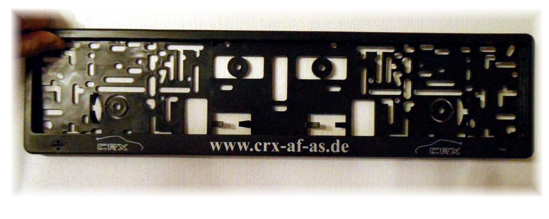 CRX Kennzeichenhalter (2)